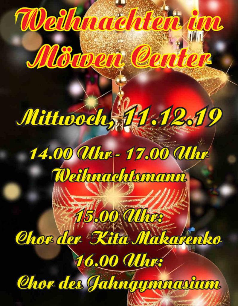 11.12.2019 Chor der Kita Makarenko, Chor des Jahngymnasiums